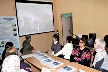 В библиотеке прошел телемост Уфа-Липецк